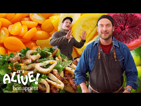 Brad Makes Fermented Citrus Fruits | Its Alive | Bon Appétit
