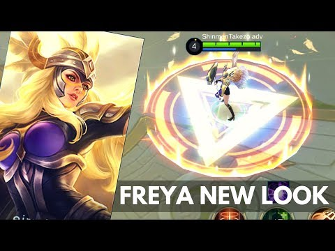 ANOTHER FREYA MODEL REWORK? WHY? | Mobile Legends