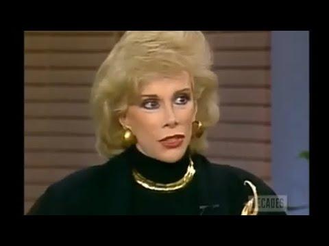 Joan Rivers Dick Cavett 1985