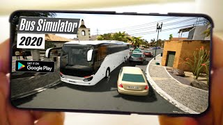 Top 5 Best Realistic Bus Simulator Android & iOS Games 2020 | Best Bus Games 3D