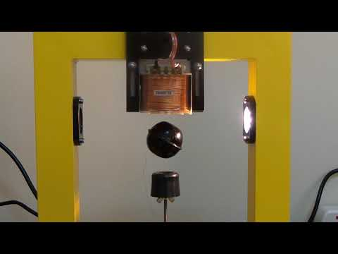 PID control of magnetic levitation system (step tests)