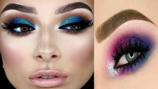 Eye makeup compilation for beginners || eye makeup casual || 2  ||