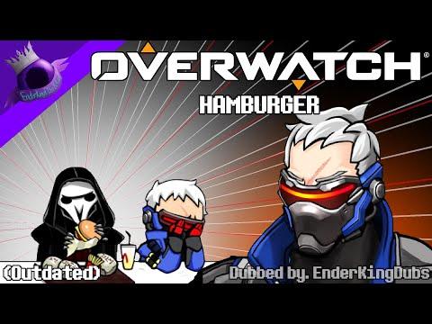 Overwatch Comic Dub: Hamburger (Funny Overwatch Comic Dub)
