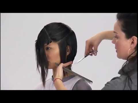 Стрижка каре с удлинением на лицо