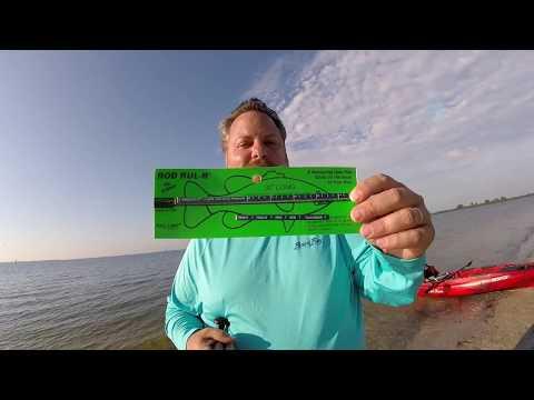 Rod Rul R fishing tape measure – Kayak ruler for fish