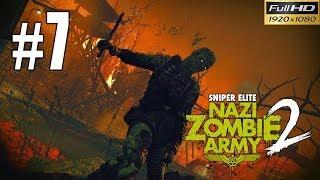 Snipers Elite: Nazi Zombie Army 2 Walkthrough Gameplay - Part 7 Terminal 1080p