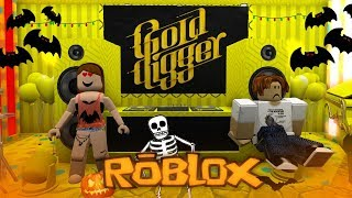 ROBLOX | GOLD DIGGER PRANK! [Halloween Edition] - Roblox Social Experiment