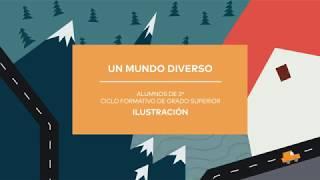 Un Mundo Diverso, intervención creativa en el IED Madrid