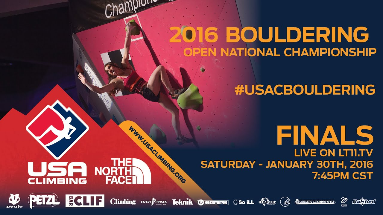 USA Bouldering Nationals Finals Livestream - Climbing Magazine