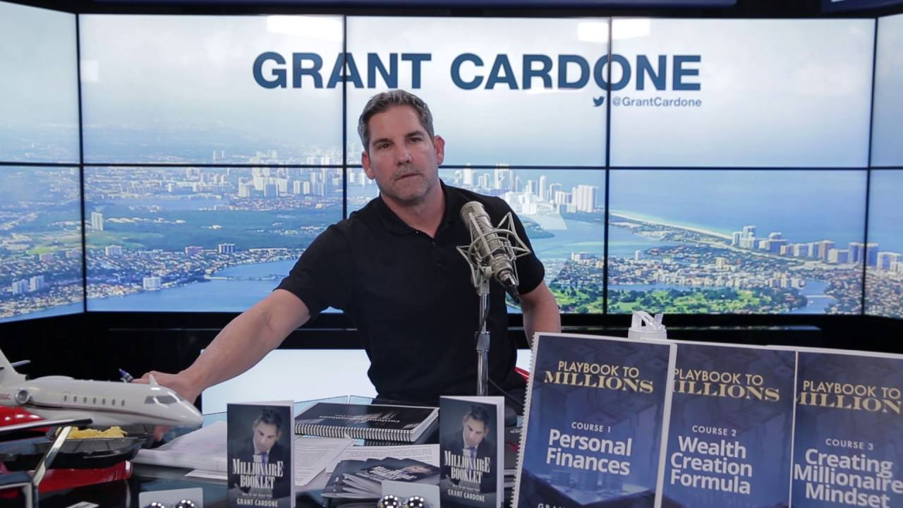 Image result for grant cardone on money investing in yourself