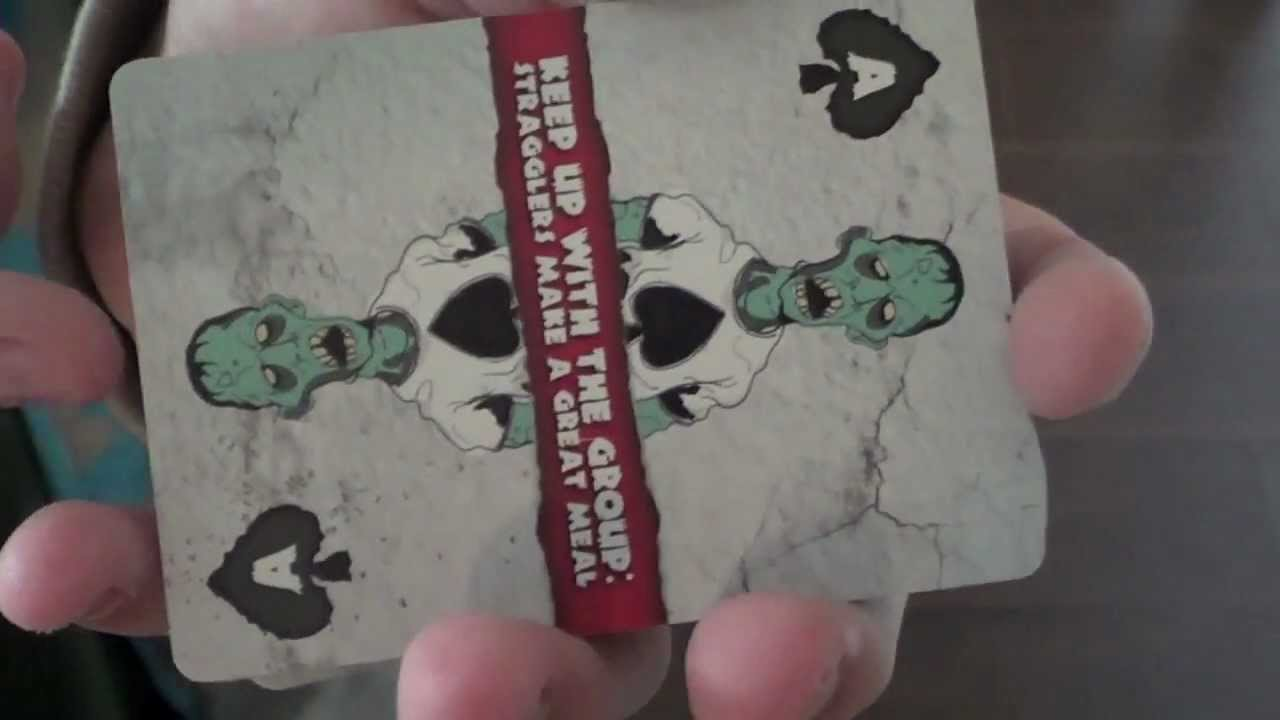 Bicycle zombie deck review youtube for Zombie balcony