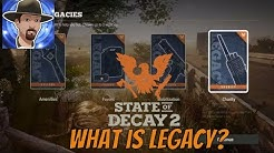 LEGACY CARDS AND WHAT THEY DO- STATE OF DECAY 2 HOW TO