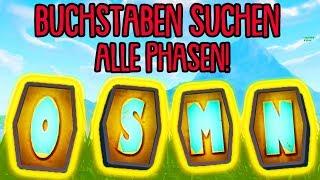 Fortnite: Suche nach den Buchstaben ALLE PHASEN!!   Woche 4 Herausforderung