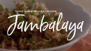 Tasso Ham & Grilled Chicken Jambalaya