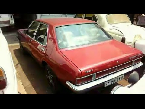 hindustan motors 1988 contessa classic restored in red with chrome rh youtube com HM Contessa Hindustan Motors