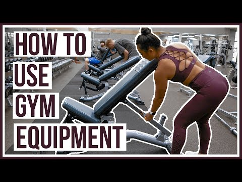 HOW TO USE GYM EQUIPMENT | Free Weights