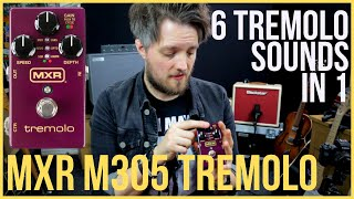 MXR TREMOLO M305 - The Tremolo is BACK and BETTER THAN EVER