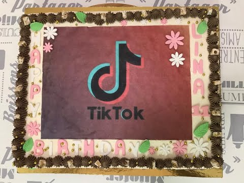 ***tik-tok-cake-/-tarte-glacée-تحضيرات-لحفل-عيد-الميلاد***