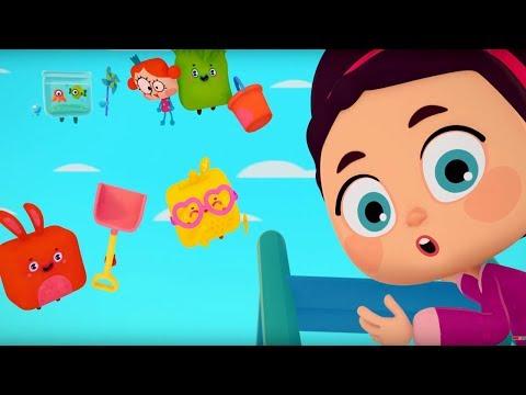 Четверо в кубе - Кубо герои - серия 8 - мультики для детей - музыкальный мультфильм