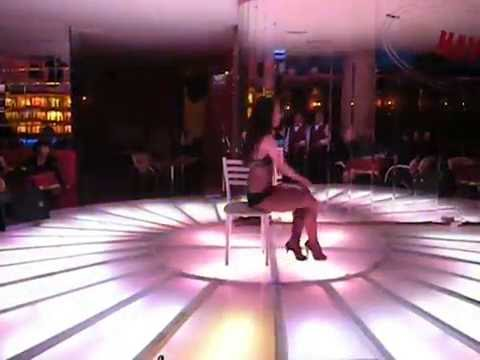 танец со стулом....Havana night club in ankara