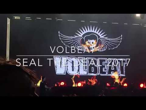 VOLBEAT - SEAL THE DEAL 2017 LIVE  24.08.2017 WALDBÜHNE BERLIN