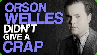 Orson Welles Didn't Give a Crap (Interacting with People Online)
