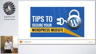 WordPress Security Tips - SG PHP Meetup