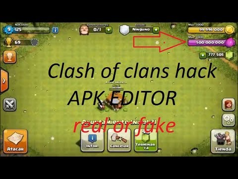 Clash of Clans Hack  Using By APK Editor  Real Or Fake my GHOST GAMER 007