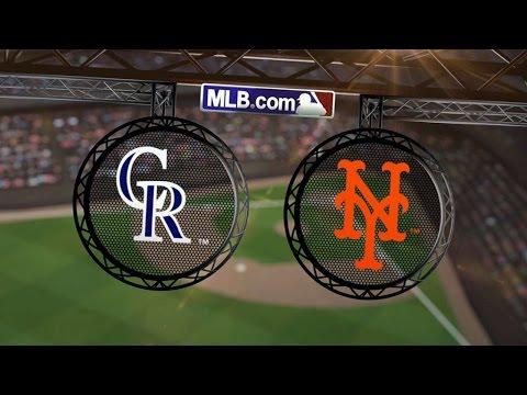 9/8/14: Mets Rally In 9th To Walk Off Against Rockies