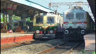Four Trains on three Platforms at same time || Morning time Busy crossing at Chuchura thumbnail