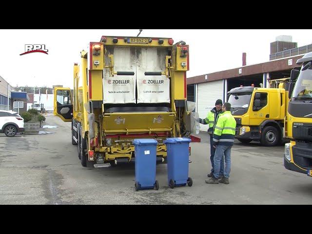 Hybride vuilniswagens
