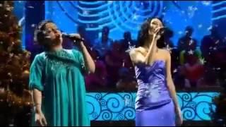 Этери Бериашвили и Алина НаниеваНани Ева   Снегопад