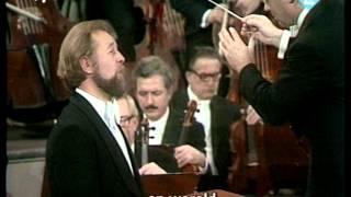 Benjamin Luxon: Part 2, Lieder eines fahrenden Gesellen (Songs of a Wayfarer), Gustav Mahler