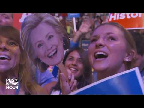 Hillary Clinton closes out Tuesday night at 2016 Democratic National Convention