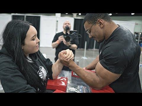 Arm Wrestling Highlights Aleksandra OZEROVA 2019