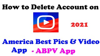 How to delete account on abpv app | americas best pics and video app delete account screenshot 2