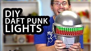Adafruit Neopixels & Arduino Bring My DAFT PUNK Helmet To Life!