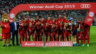 FC Bayern @ Audi Cup: All Goals from 2009 until 2017