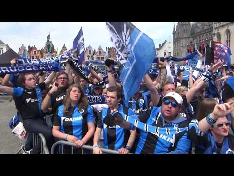 FC Bruges celebrate 15th title as champions Belgian soccer league