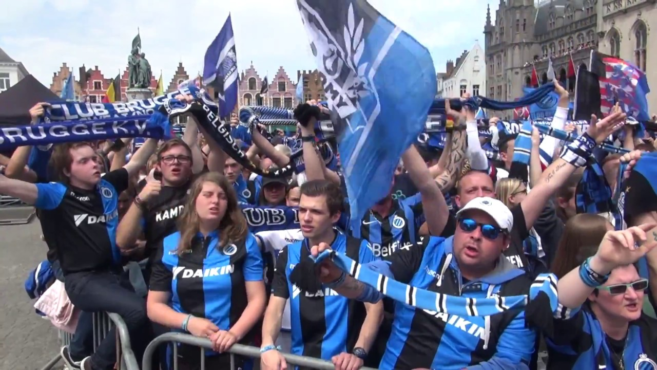 FC Bruges celebrate 15th title as champions Belgian soccer ...