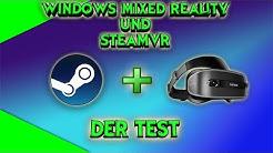 SteamVR auf Windows Mixed Reality! Der Test! Pavlov / Onward / The Gallery [Lenovo Explorer]