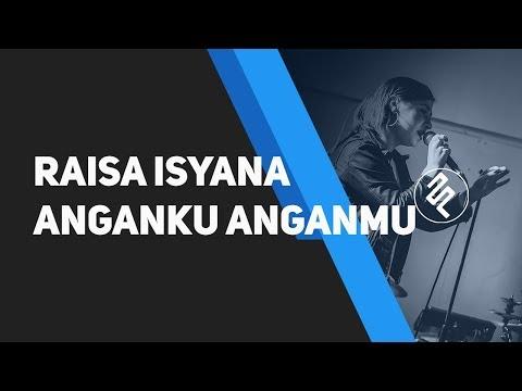 Raisa, Isyana Sarasvati - Anganku Anganmu Karaoke Piano Instrumental / Chord / Lirik / Tutorial