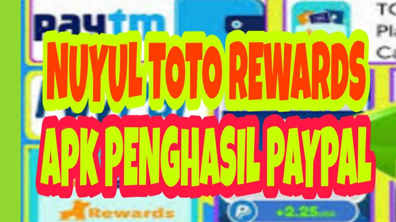 Script Apk Toto Rewards Penghasil Paypal Tercepat 2020 Vps And Vpn