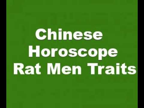 Chinese Horoscope Rat Men Characteristics and Personality Traits