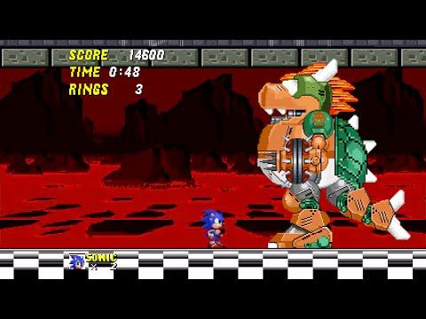 Sonic 2... 'Mushroom Kingdom Zone' (act 2)
