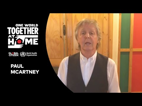 """Paul McCartney performs """"Lady Madonna""""   One World: Together at Home"""