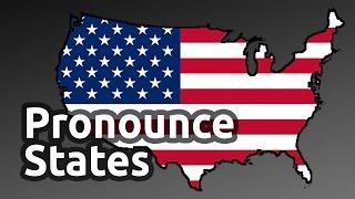 Slav pronouncing U.S. states
