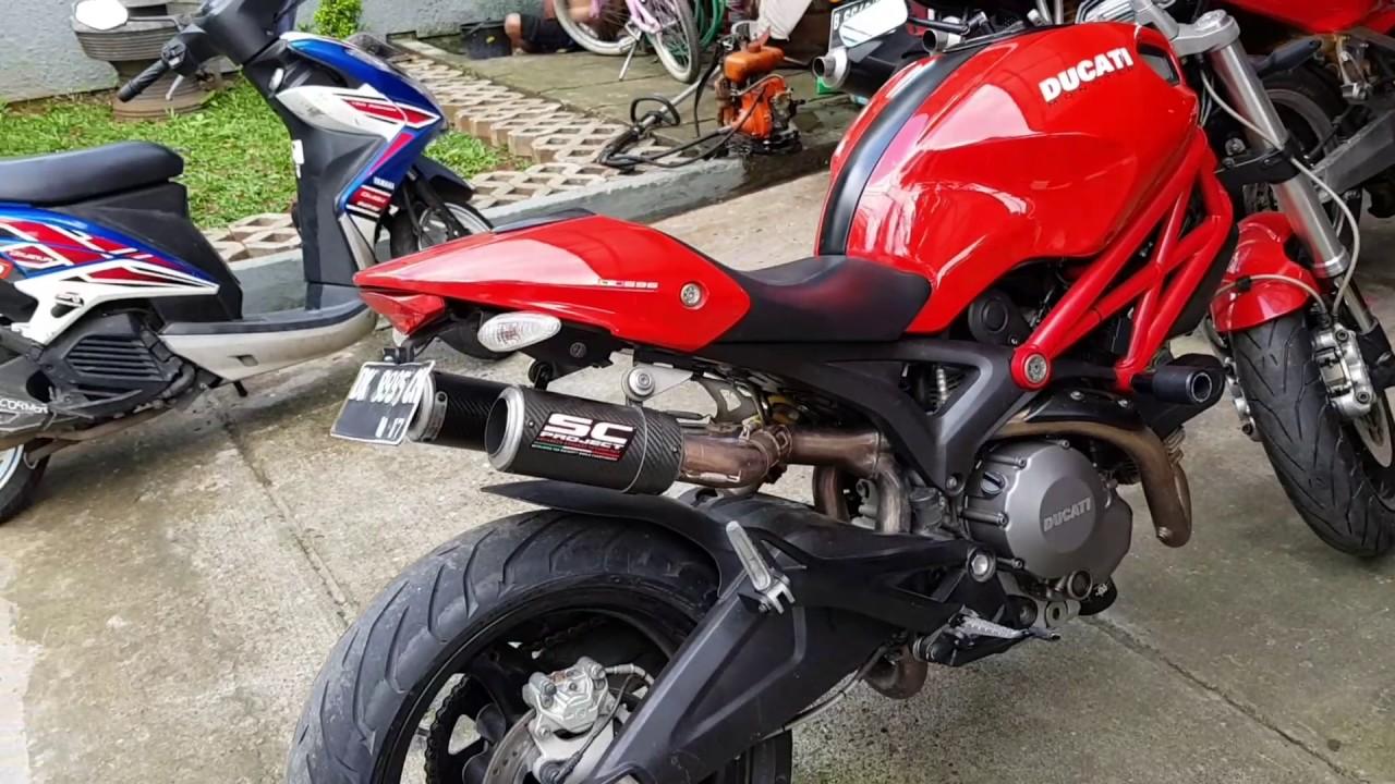 Ducati Monster Shorty Exhaust