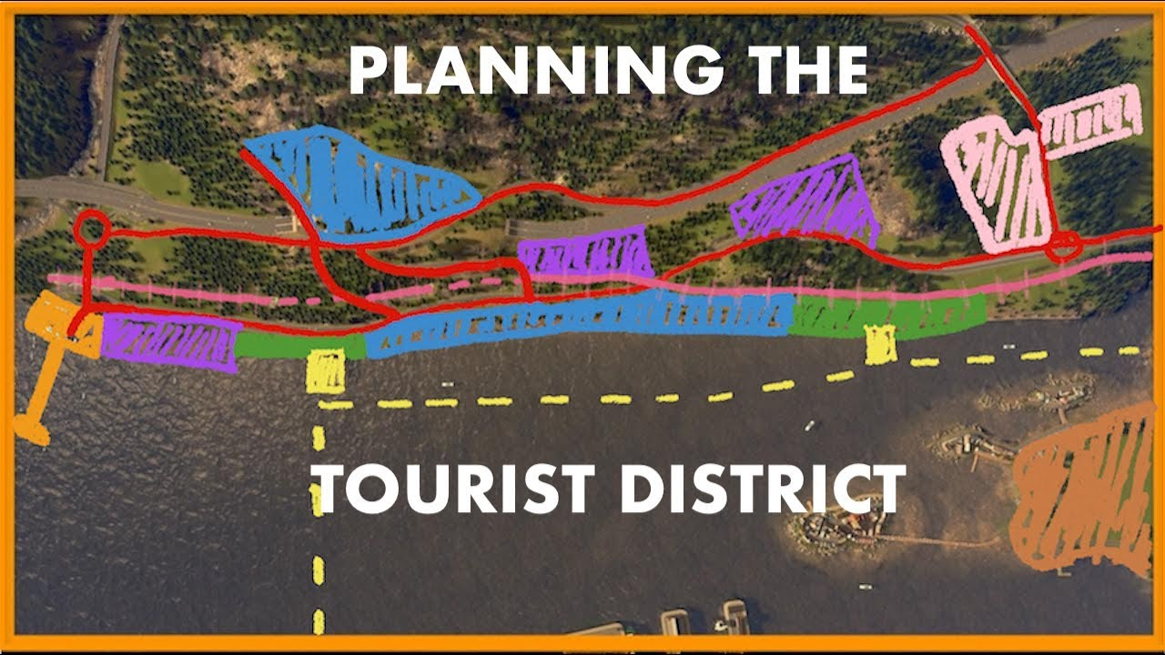 HELP ME DESIGN MY TOURIST AREA | Cities Skylines