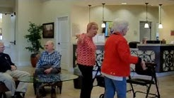Seniors Dancing to 'My House' by Flo Rida